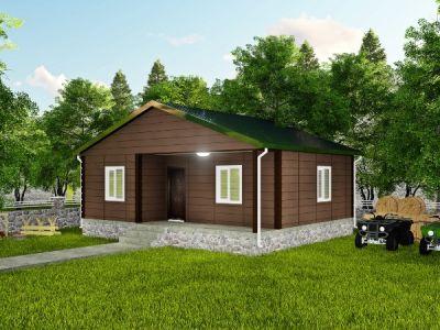 Mudra 60 m² Tek Katlı Prefabrik Ev