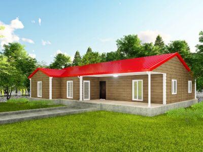 İlena 168 m² Tek Katlı Prefabrik Ev