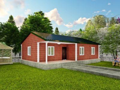 Cera 90 m² Tek Katlı Prefabrik Ev